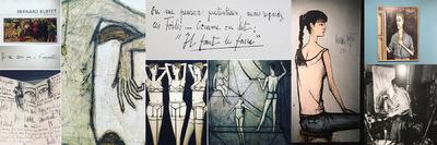 IXIA Artiste - Bernard Buffet - Rétrospective Musée dart moderne de la Ville de Paris Février 2017