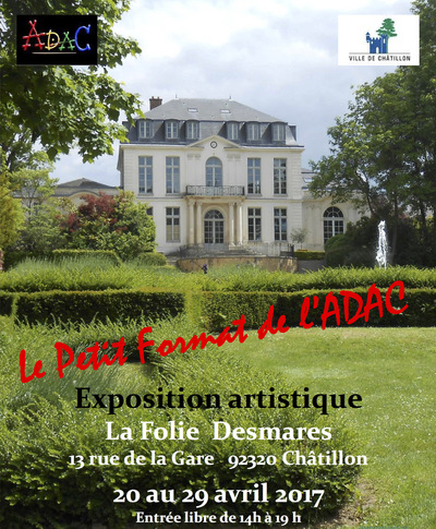 IXIA Artiste - 3e Salon Petit Format de lADAC Châtillon Avril 2017