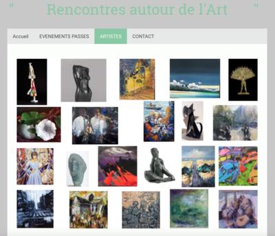 IXIA Artiste - Rencontres autour de lart En permanence www.patriciasuroy.net