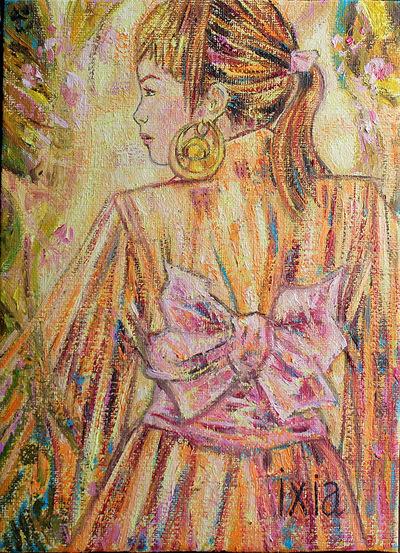 IXIA Artiste - Intense caresse 16 x 22 cm 2014