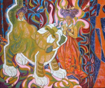 IXIA Artiste - Le monde de Kwon 46 x 38 cm 2006