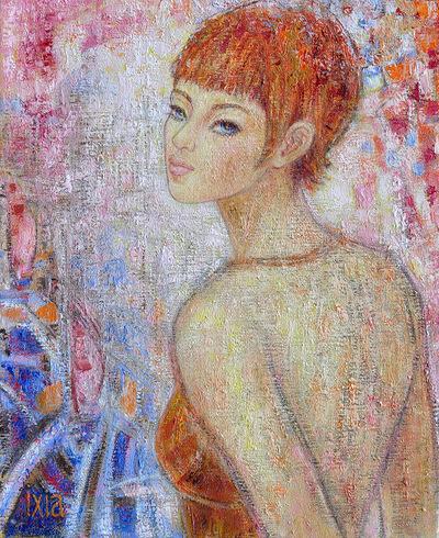 IXIA Artiste - Beauté rousse 38 x 46 cm 2015