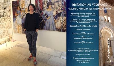 IXIA Artiste - Salon de printemps des arts daujourdhui à Bernay, 27 Avril-mai 2018