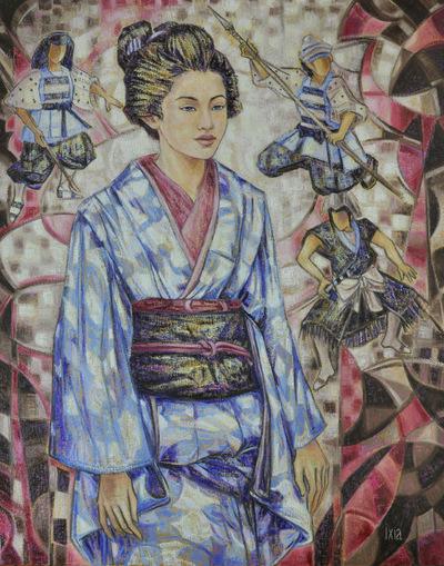 IXIA Artiste - La voie bleue 73 x 92 cm 2010