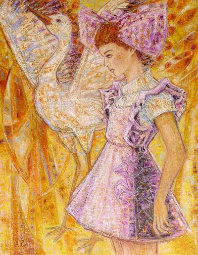 IXIA Artiste - Odilia 60 x 81 cm 2015