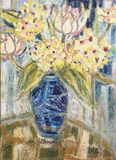 IXIA Artiste - Petit bouquet 24 x 35 cm 2018