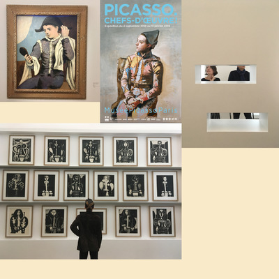 IXIA Artiste - PICASSO - CHEFS DOEUVRE ! Musée Picasso, Paris Octobre 2018