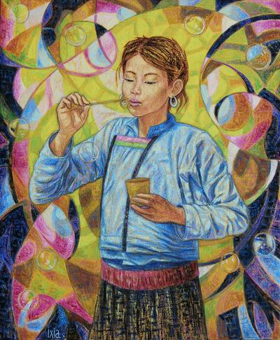 IXIA Artiste - Jeu denfant 60 x 73 cm 2009