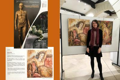 IXIA Artiste - 3e Biennale Versaillaise, 78 Avril 2018 Jour de vernissage http://biennale-versaillaise.fr/