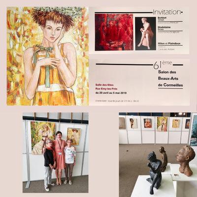 IXIA Artiste - 61e Salon des Beaux-Arts de Cormeilles en Parisis Avril - mai 2019