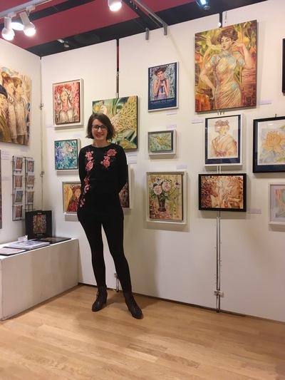 IXIA Artiste - Salon des arts visuels du 11e Salle Olympe de Gouges, Paris Décembre 2018