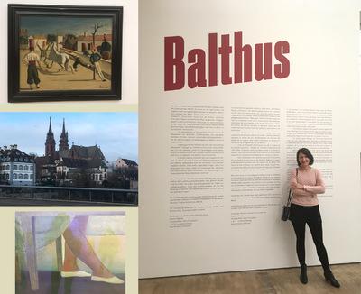 IXIA Artiste - Exposition Balthus Fondation Beyeler, Bâle (Suisse) Décembre 2018