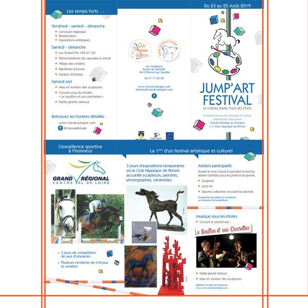 IXIA Artiste - JUMPART Festival Exposition collective Brinon sur Sauldre Août 2019