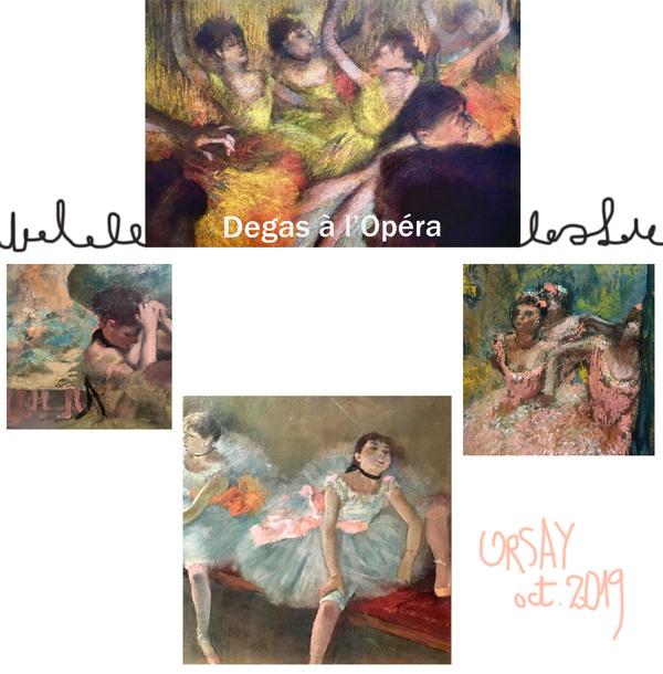 IXIA Artiste - Degas à lOpéra Musée dOrsay Octobre 2019