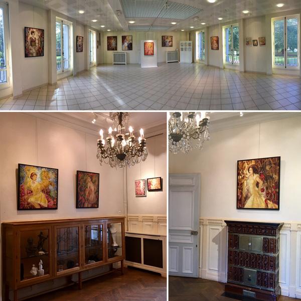IXIA Artiste - Exposition exceptionnelle au Château de la Forêt à Livry-Gargan (93) qui a valu à IXIA la médaille de la Ville. Octobre-novembre 2019
