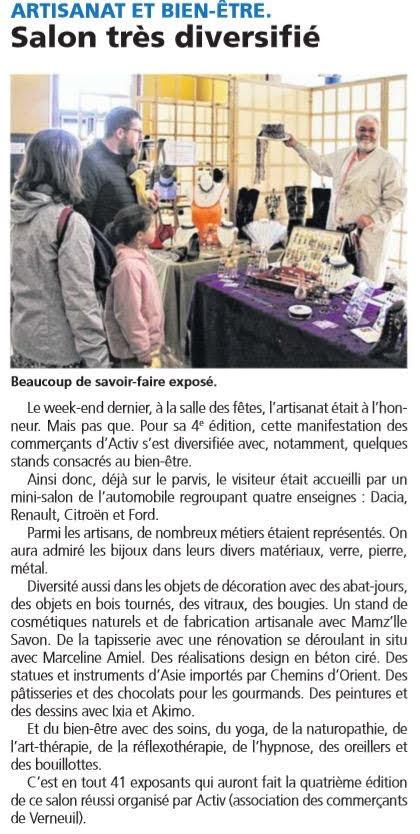 IXIA Artiste - La Dépêche (Verneuil-sur-Avre)