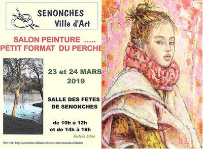 IXIA Artiste - Salon du Petit format du Perche Senonches (28) Mars 2019