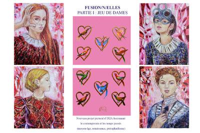 IXIA Artiste - Projet Fusion/n/elles Partie I Jeu de Dames 2019