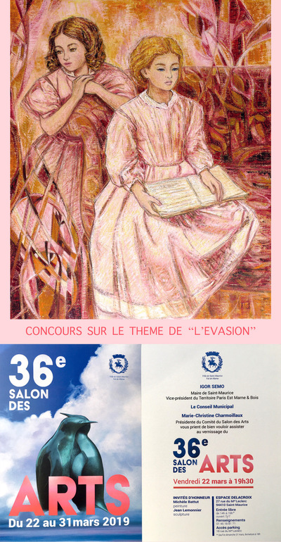 IXIA Artiste - 36e Salon des Arts Saint-Maurice (94) Mars 2019