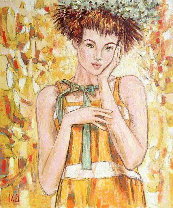 IXIA Artiste - Léonie 46 x 55 cm 2019