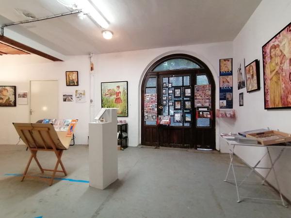 IXIA Artiste - Portes ouvertes des ateliers des Artistes de Ménilmontant 2020