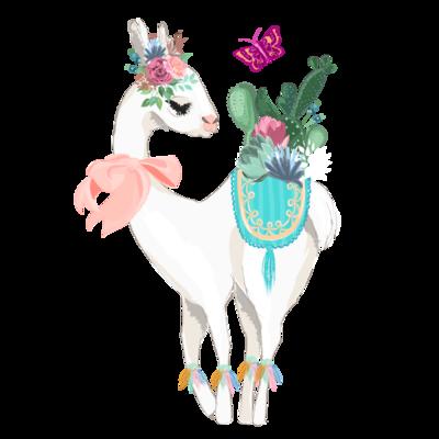 lescapricesdefilles - My little lama