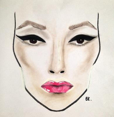 barbarakoziol - Eyeliner make up Inspiration