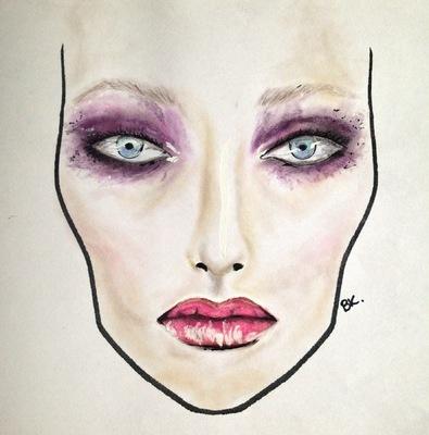 barbarakoziol - Purple make up Inspiration