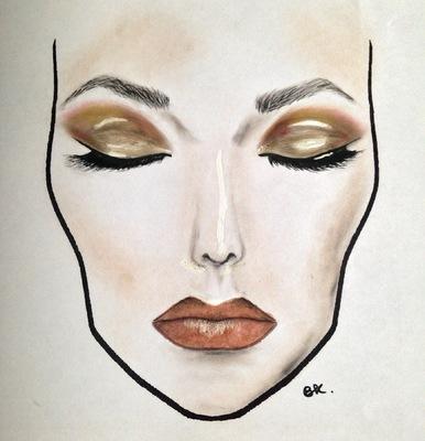 barbarakoziol - Brown make up Inspiration