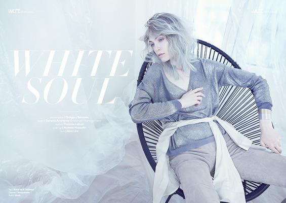Noemie Masselin Make-Up ,Hair Artist - iMUTE magazine Makeup