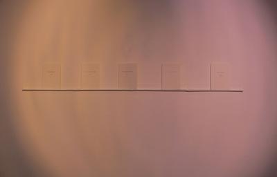 Gunnhildur Hauksdottir - Display in Edenborg Culture Center,