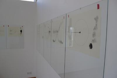 Gunnhildur Hauksdottir - Installation view, drawing