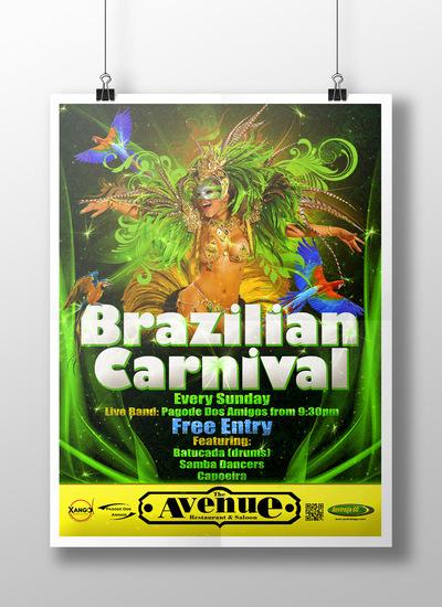 Cyxanity - Brazilian Carnival Poster