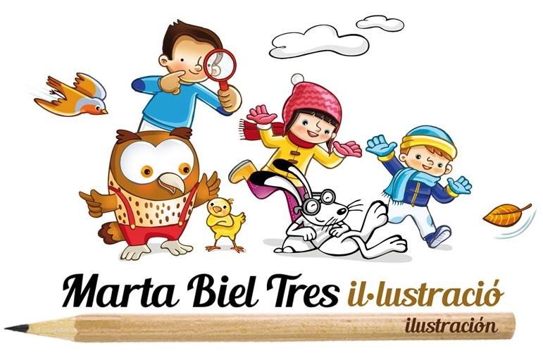 marta biel tres il·lustració