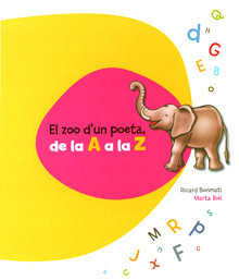 marta biel tres il·lustració - El zoo dun poeta, de la A a la Z Ricard Bonmatí  Castellnou Infantil i Juvenil, 2012
