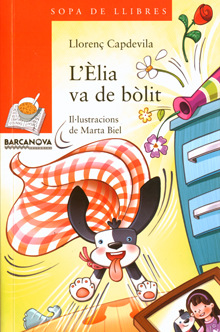marta biel tres il·lustració - LÈlia va de bòlit Llorenç Capdevila  Barcanova, 2013