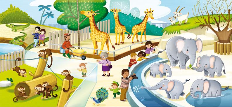 marta biel tres il·lustració - Axioma matemàtiques Educació infantil P3 / P4 / P5  Barcanova, 2014