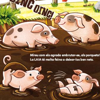 marta biel tres il·lustració - La granja / Conte infantil personalitzat  CAT/ ESP/ ENG / Somnins / Superprota, 2015 www.superprota.com