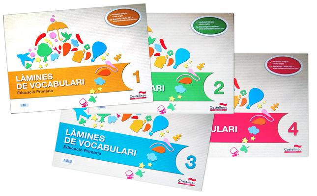 marta biel tres il·lustració - Làmines de vocabulari 4 BLOCS  Castellnou Edicions, 2013 Almadraba Infantil i Juvenil , 2013