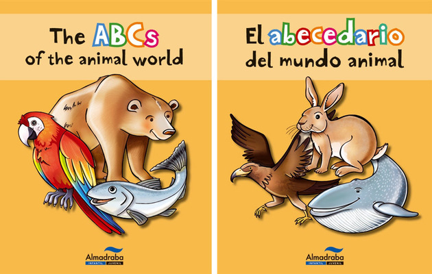 marta biel tres il·lustració - El abecedario del mundo animal The ABCs of the animal world   Almadraba Infantil y Juvenil, 2012