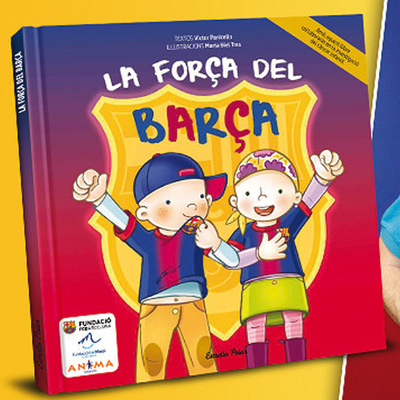 marta biel tres il·lustració - La força del Barça Víctor Panicello CAT/ CAST / ENG  Somnins / Estrella Polar