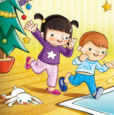 marta biel tres il·lustració - El petit tió  Somnins Estrella Polar / Edicions 62, 2014