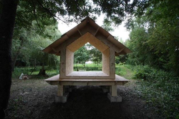 CLEMENT LANGELIN ARCHITECTURE - Une cabane pour un jardin