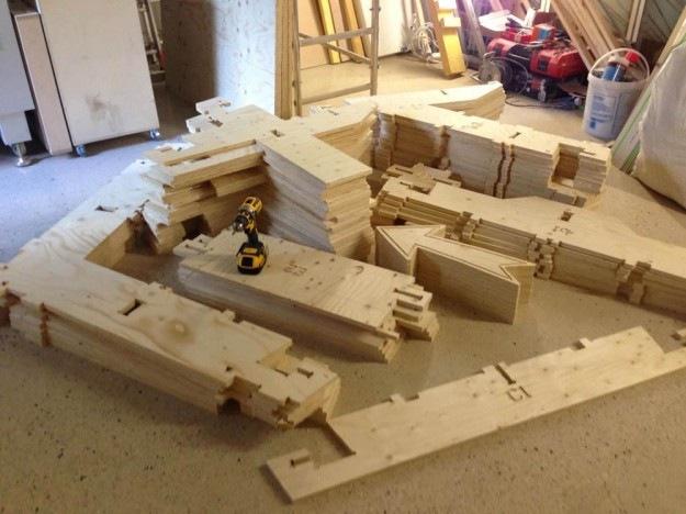 CLEMENT LANGELIN ARCHITECTURE - La maisonnette en pièces déttachées