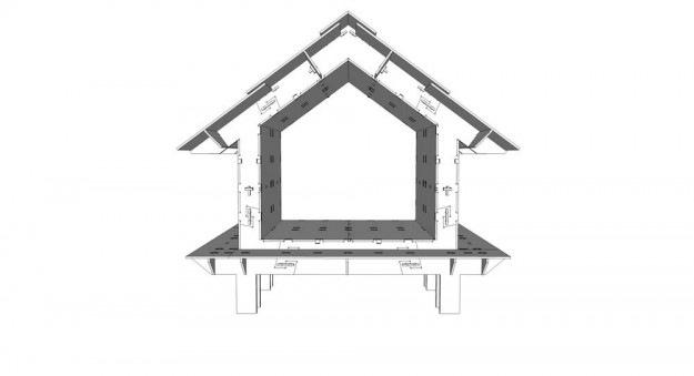 CLEMENT LANGELIN ARCHITECTURE - Maquette 3D