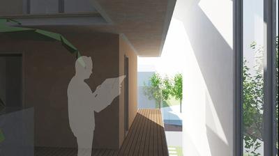 CLEMENT LANGELIN ARCHITECTURE - VUE SUR LES COURSIVES