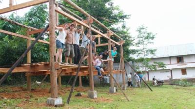 CLEMENT LANGELIN ARCHITECTURE - Chantier bénévole - 2013 - Vietnam
