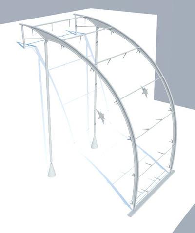CLEMENT LANGELIN ARCHITECTURE - AXONOMÉTRIE STRUCTURELLE 2