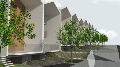 CLEMENT LANGELIN ARCHITECTURE - VUE DEPUIS LA RUE