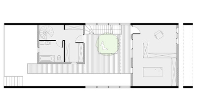 CLEMENT LANGELIN ARCHITECTURE - PLAN DU R+1